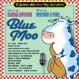 CD Cover Image. Title: Blue Moo: 17 Jukebox Hits from Way Back Never, Artist: Sandra Boynton