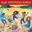 CD Cover Image. Title: Fun Food Songs, Artist: Raffi