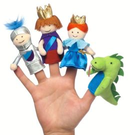 Day at the Castle Finger Puppet Set