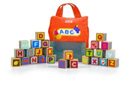 Parents Fun with Food! ABC Blocks