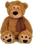 Product Image. Title: Brown Bear 18'' plush