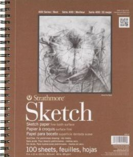 Strathmore Spiral Sketch Book 9