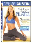 Video/DVD. Title: Denise Austin: Shrink Your Fat Zones - Pilates