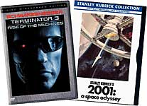Terminator 3: Rise of the Machines/2001: a Space Odyssey