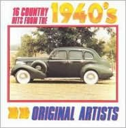 16 Country Hits from the 1940's