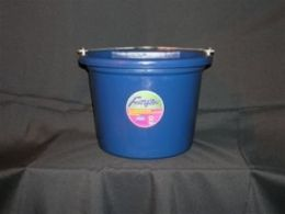 Fortex Industries Flat Back Bucket Blue 8 Quart - 1301800