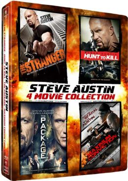 Steve Austin 4-Pack [The Stranger / Hunt to Kill / The Package / Maximum Conviction]