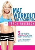 Video/DVD. Title: Tracy Anderson: Mat Workout for Beginners