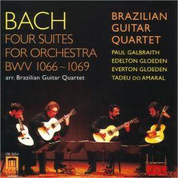 Bach: Four Suites for Orchestra Arranged for Guitar Quartet