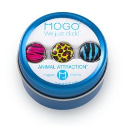 MOGO Animal Attraction Collection Set of 3 Charms