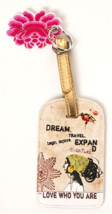 Dream Luggage Tag 2.75