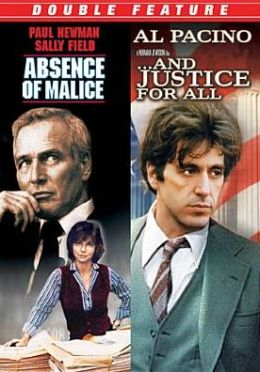 Absence of Malice/and Justice for All