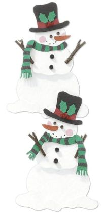 Jolee's By You Dimensional Embellishment-Snowman