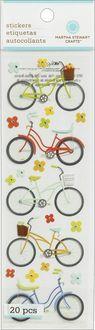 Martha Stewart Dimensional Stickers-Bike