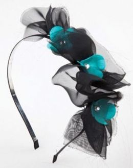 Jolees 490328 Laliberi-Julie Comstock Hair Accessory Kit-Dark Blooms