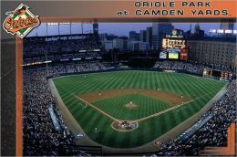 Camden Yards - Baltimore Orioles -Poster