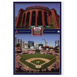 St. Louis Cardinals stadium - Poster