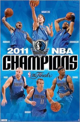 2011 NBA Champions - Dallas Mavericks Poster