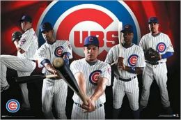 Chicago Cubs - Team Collage 09 - Poster