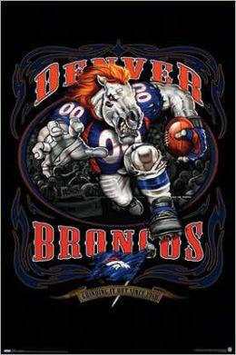 Broncos logo - Runnning Back 09 - Poster