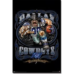 Cowboys logo - Running Back 09 - Poster
