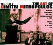 The Art of Dimitri Mitropoulos, Vol. 1 of 2