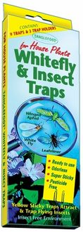 Contech Whitefly Insect Traps 95101 - Pack of 12