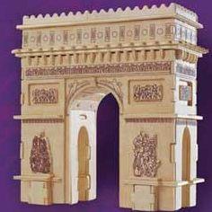 Arch De Triomphe Wooden Puzzle