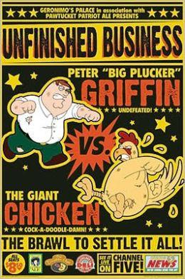 Family Guy - Peter vs Chicken - Poster
