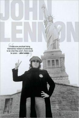 John Lennon - Statue of Liberty - Poster