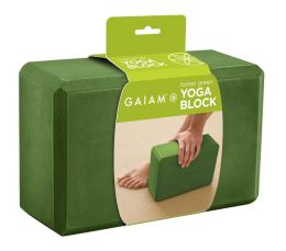 Forest Green Yoga Block