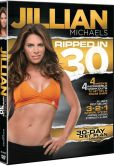 Video/DVD. Title: Jillian Michaels: Ripped in 30