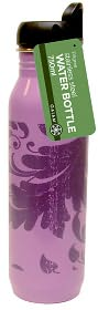 Water Bottle Ss - Purple Filagree