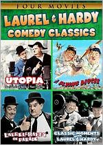 Laurel & Hardy Comedy Classics (2pc)