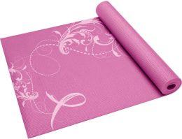 Printed Pink Ribbon Yoga Mat (3Mm)
