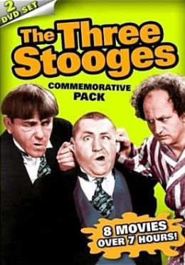 Three Stooges Commemorative Pack Dvd