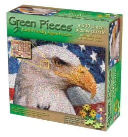 Green Pieces Ameri Cans 500 Piece Puzzle