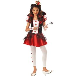 Alice in Wonderland Queen of Hearts Child Costume: Size X-Large (12-14)
