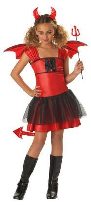 Devil Darling Child Costume: Size Small (6-8)