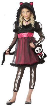 Kit the Kat Child Costume: X-Large (12/14)