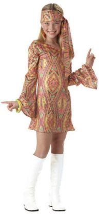 Disco Dolly Child Costume: Size X-Large