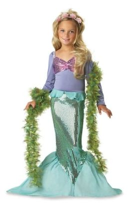 Lil' Mermaid Toddler/Child Costume: Size Medium (8-10)
