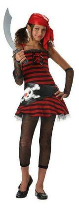 Pirate Girl Tween Costume: Size Large (10-12)
