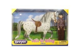 Breyer Let's Go Riding Horse & Doll Set - English