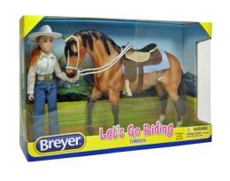 Breyer Let's Go Riding Horse & Doll Set - Western