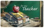Product Image. Title: For Teacher Gift Card