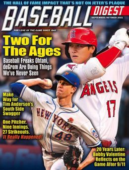 Baseball Digest - One Year Subscription