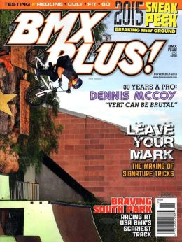 BMX Plus! - One Year Subscription