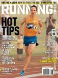 Magazine Cover Image. Title: Running Times - One Year Subscription