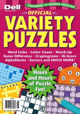 Official Variety Puzzle & Word Games - One Year Subscription